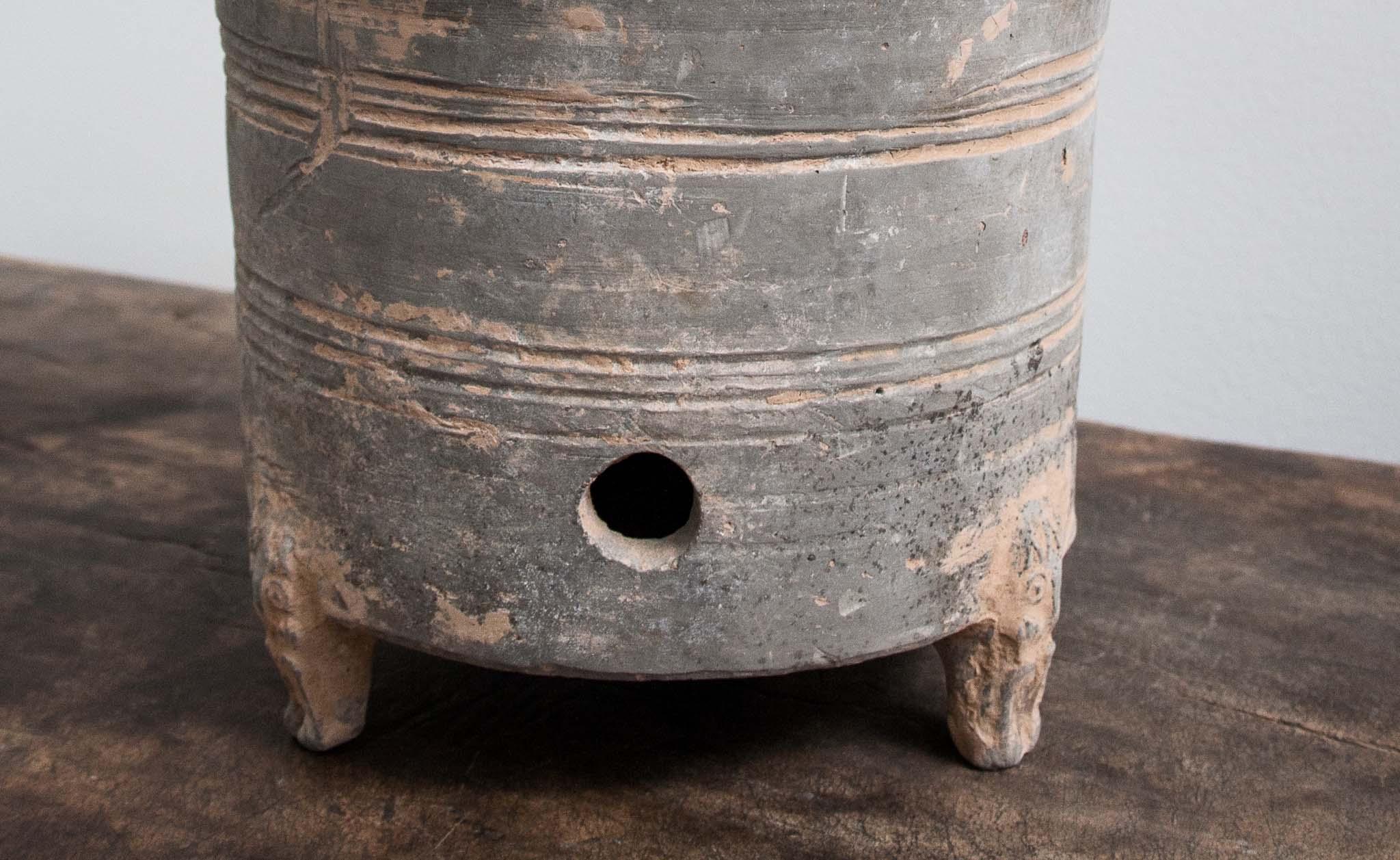 Han dynasty grain jar