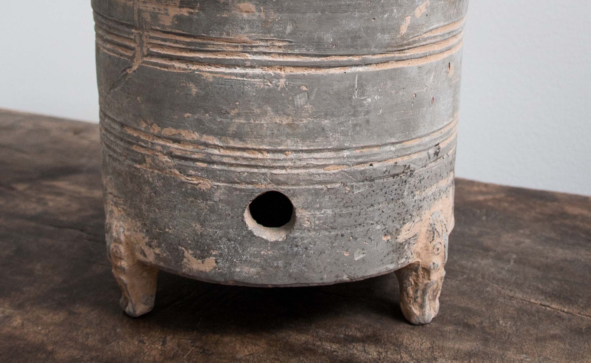 Han dynasty grain jar