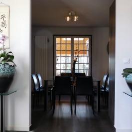 Interior design coaching – ethnic decoration of modern interior – France